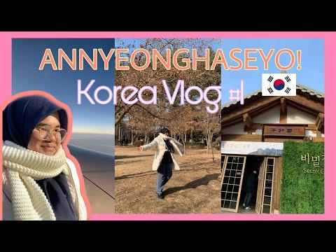EH TIBA2 SAMPAI | Korea Vlog #1