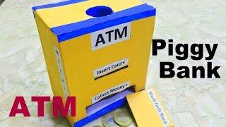 How to make piggy bank/ATM