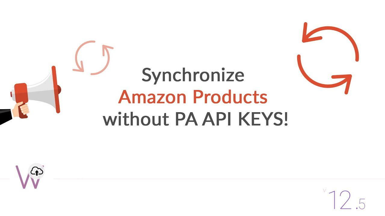 Amazon Product Synchronization without PA API Keys