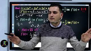 Türev - 1 | Ali Ahsen AKTİ