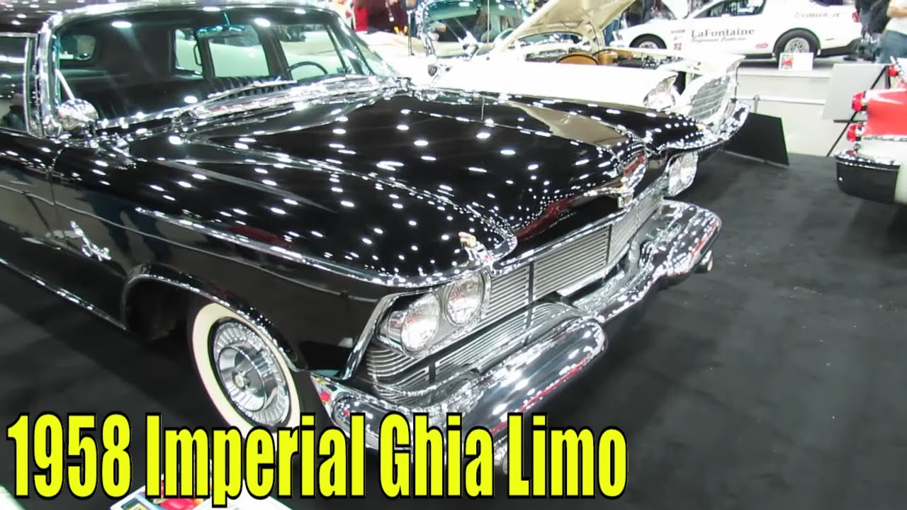 1956 chrysler imperial interior images - 1958 Imperial Ghia Limo At 2014 Detroit Autorama