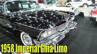 1958 Imperial Ghia Limo At 2014 Detroit Autorama