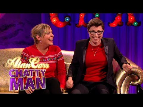 Sue Perkins and Mel Giedroyc  Full  on Alan Carr: Chatty Man