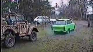 rozerwany trabant