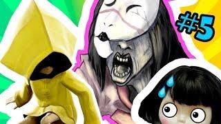 БИТВА С БОССОМ! 😈 Прохождение игры Little Nightmares - КОМНАТЫ ХОЗЯЙКИ 5 | Маленькие Кошмары ШЕСТОЙ