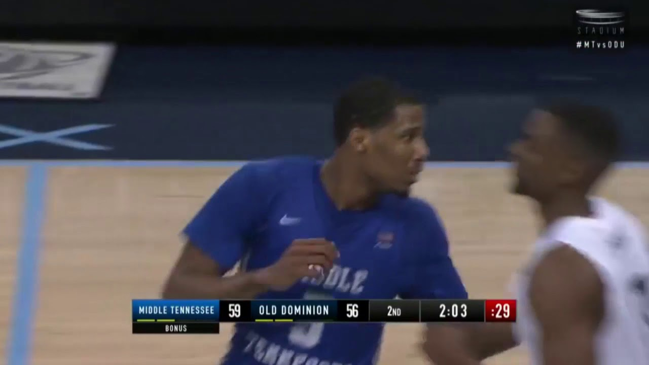 HIGHLIGHTS: King and Potts Guide Middle Tennessee Over Old Dominion |  Stadium