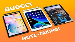 iPad 7th gen vs Tab S6 Lite vs Surface Go 2 - BUDGET Note-taking!