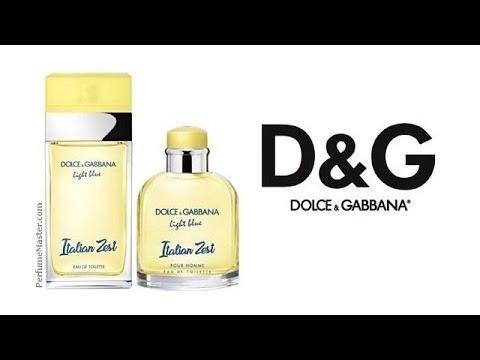 7dcbbc1f Dolce Gabbana Light Blue Italian Zest New Perfumes - YouTube