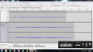 How to add background music to and voice recording and noise removal from a recording