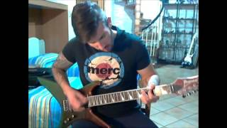 Agalloch - Falling Snow (My Lead Guitar Cover)