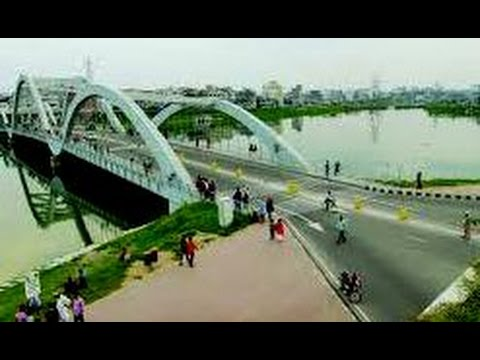 Dhaka City Drive 02 - Entire Beautiful Hatirjheel Lake Drive - Bangladesh