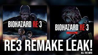 Resident Evil 3 Remake NEW Leak! | Cover Art Revealed | RE3 Remake Confirmed?