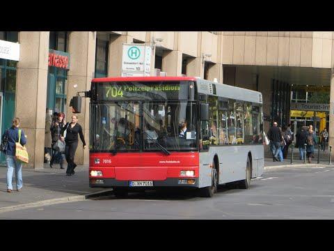 [Sound] Bus MAN NL 263 (Wagennr. 7016) der Rheinbahn AG Düsseldorf