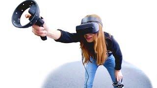 первый игрок приготовился - Lenovo Explorer: Mixed Reality ОБЗОР