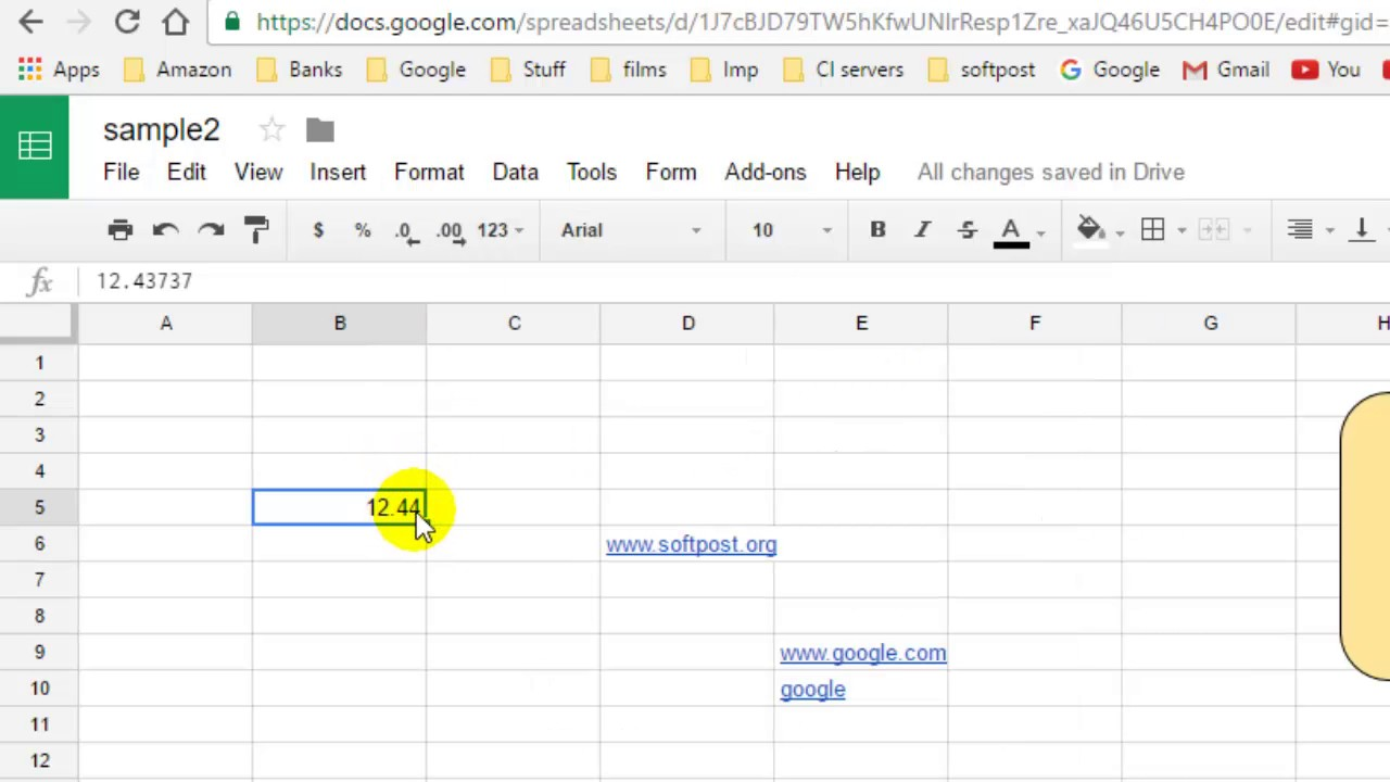 How to format the number upto 2 decimals in Google Spreadsheet YouTube – How To Format A Spreadsheet