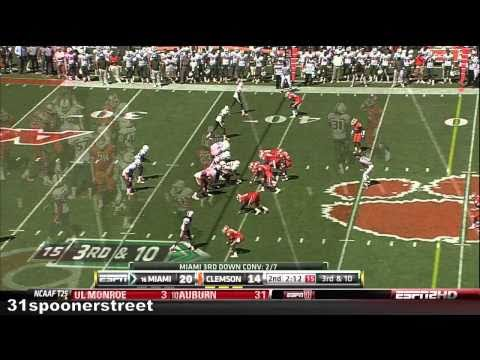 Miami Hurricanes vs Clemson Tigers