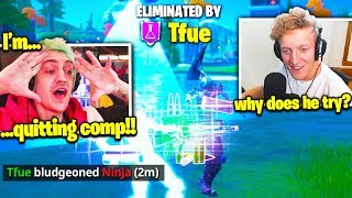TFUE *CAREER ENDS* NINJA! (RAGE QUITS STREAM!)