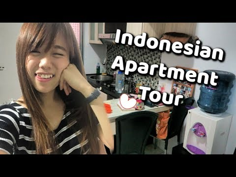 My Indonesian Apartment Tour! 🎄❤️
