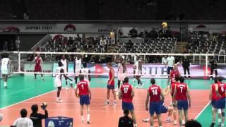 2011 ワールドカップバレー男子 キューバvsセルビア ウォームアップ thumbnail