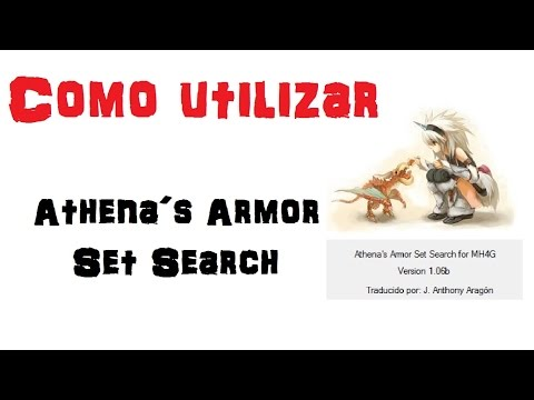[Masa Guía] Monster Hunter 4 Ultimate - Tutorial del Athena´s ASS [Español]