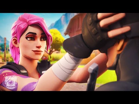 JOURNEY AND 8-BALL FALL IN LOVE?! (A Fortnite Short Film)