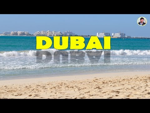 Dubai Marine Beach + Hotels, Shopping, Metro, Mall, Zoo