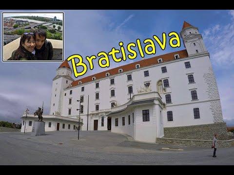 [เที่ยวยุโรป] Traveling Bratislava Old Town & The castle : Slovakia Travel Vlog Ep.106