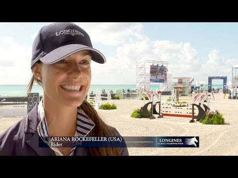LGCT 2017 Interview with Ariana Rockefeller
