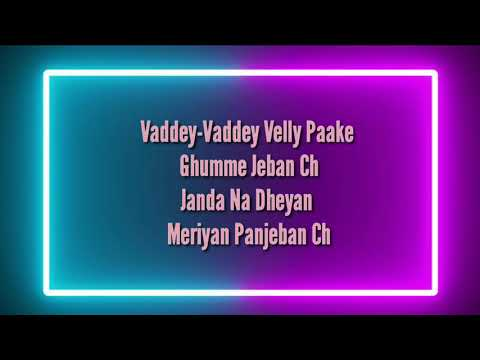 a-to-z-tere-sare-yaar-full-song-lyrical-video!!!