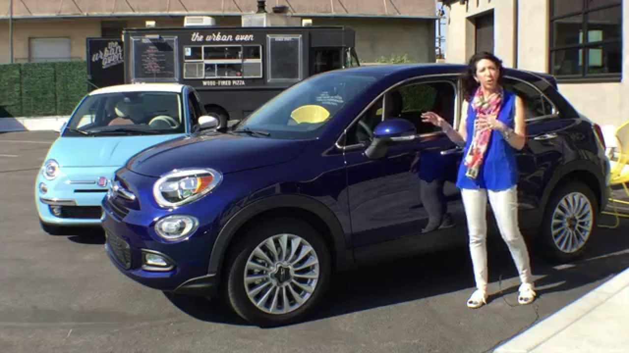 Fiat 500X Crossover >> 2016 Fiat 500X : His Turn - Her Turn Expert Car Review - YouTube