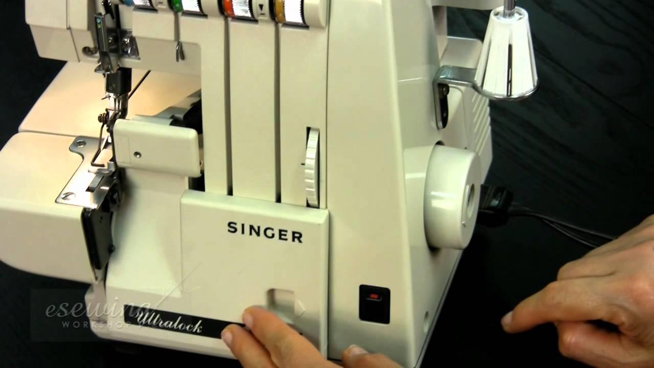 overview singer serger overlock sewing machine free sample rh youtube com singer overlock 14u134 manual singer overlocker manual 14sh754