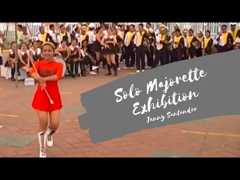 Solo Majorette Exhibition - Jenny Santander | Malabon Pula Original