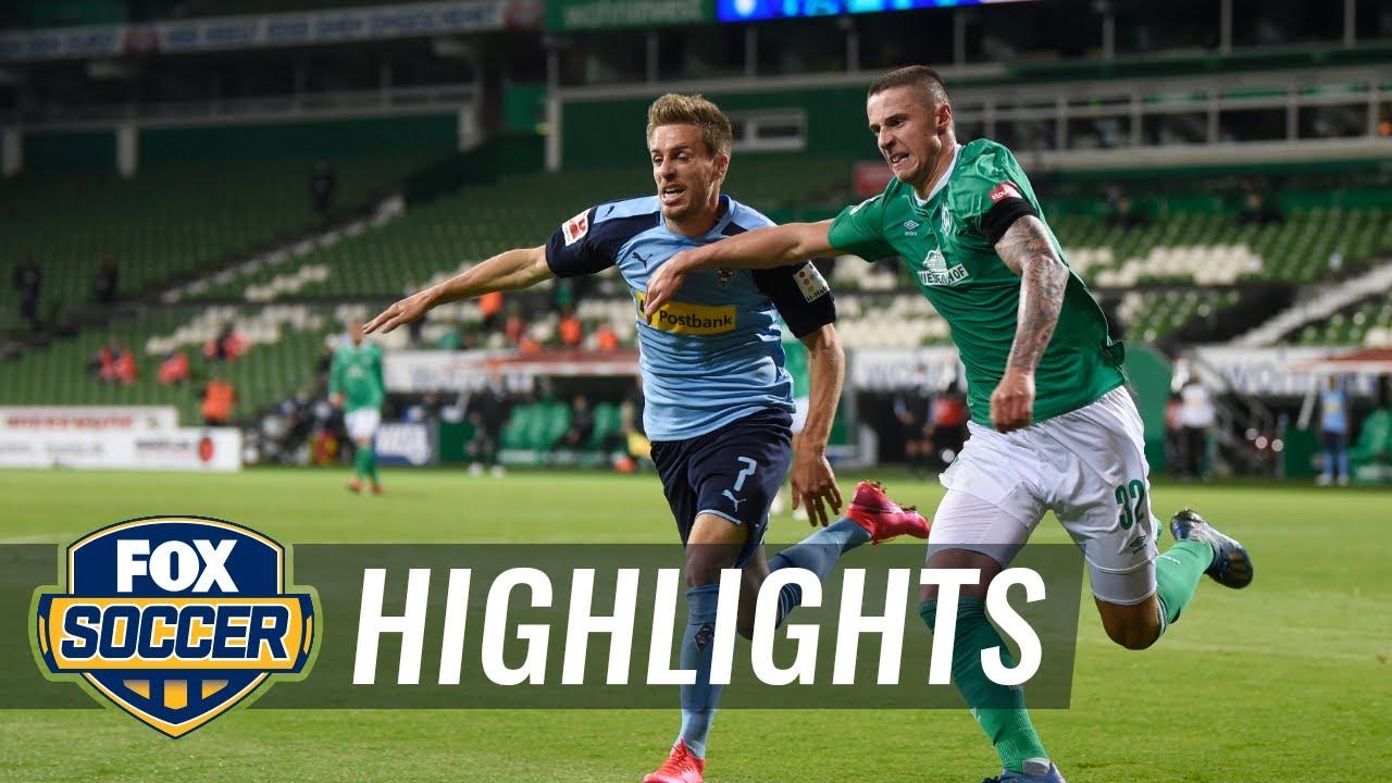Werder Bremen 0 - 0 Borussia M'gladbach