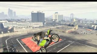 GTA V PC online Stunts & Glitch