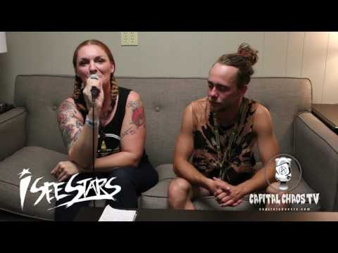 Brent Allen of I See Stars Interviewed at Vans Warped Tour in Mountain View, California