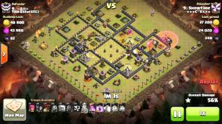 [Clash of Clans] GoLaLoon vs TH9Elite STC @Showtime