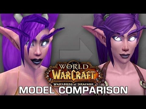 Graphics Comparison: New & Old Models in World of Warcraft: Warlords of Draenor Beta