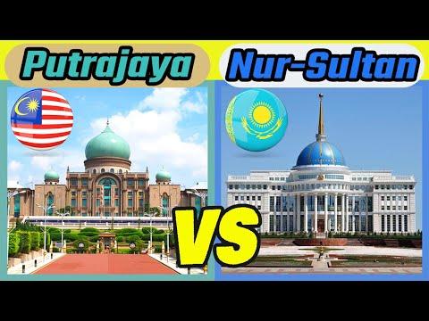 Putrajaya vs Nur-Sultan | Malaysia vs Kazakhstan (Two Islamic Planned Cities) | Ramadan Ed.