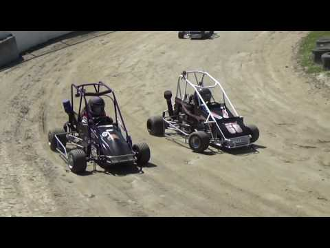 Skagit Speedway, Mini Dirt Cup 2017, Day 2, Heat Races
