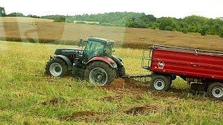 Żniwa 2015 - Koszenie Rzepaku & Wyciąganie przyczep z pola