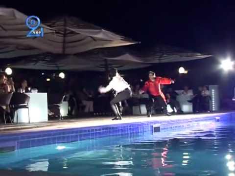 Armenia Romeo & Julet в бассейне Golden Tulip Hotel Yerevan