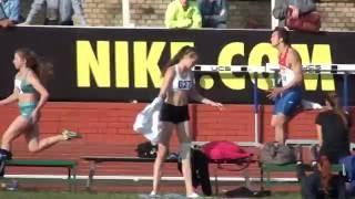 Первенство Москвы среди молодежи до 23 лет. Финал 100 метров. 10.55 ветер +0.5