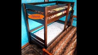 как сделать двухэтажную кровать