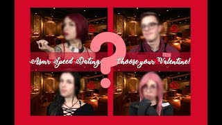 ASMR Interactive Speed Dating: choose your Valentine! 💕(sub.Ita)