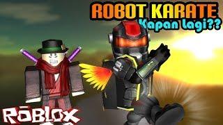 ROBLOX Indonesien | Karate Roboter Training Erste AHH!! 👊😬🤖