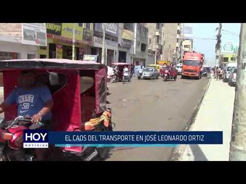 Chiclayo: El Caos Del Transporte En José Leonardo Ortiz