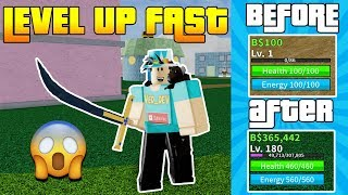 HOW TO LEVEL UP FAST IN BLOX PIECE! *BEGINNERS* (Roblox)