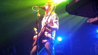 RIVERSIDE - WE GOT USED TO US (+końcówka 02 Panic Room) - 11.04.2013 KATOWICE MEGACLUB (live)