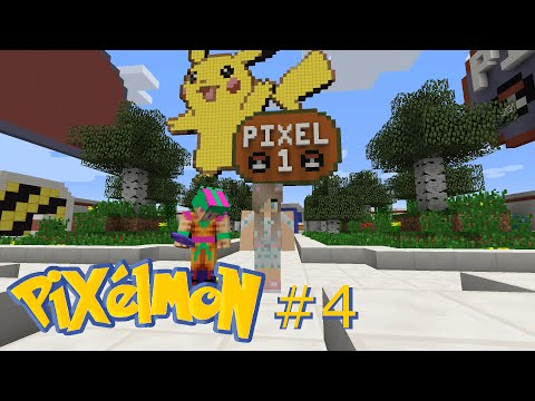 Pixelmon! Episode 4 - Claiming Land