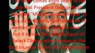 BREAKING NEWS  OSAMA BIN LADEN IS FOUND AND KILLED   Obama Announces (OFFICIAL REPORT) MAY 1 2011. Thumbnail